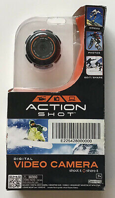 Action Shot Digital Video Camera New in Open Box - Mount on Helmet or Dashboard
