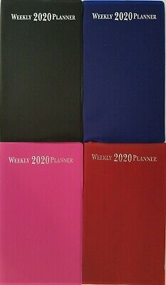 2020 Weekly Pocket Appointment Planner Day-timer 6.5 X 3.75 Select Color