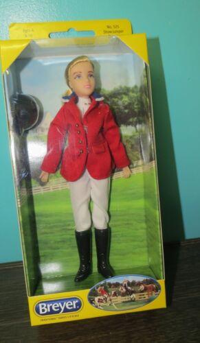 Breyer Posable Traditional doll  #525 Show Jumper Brenda New in box