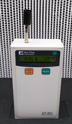 Met One Gt-321 Calibrated Handheld Particle Counter