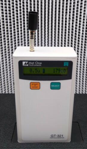 Met One GT-321 Hand Held Particle Counter
