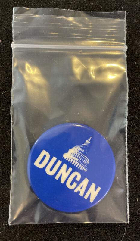 Vintage John Duncan Election Button Pinback Pin Tennessee Congress