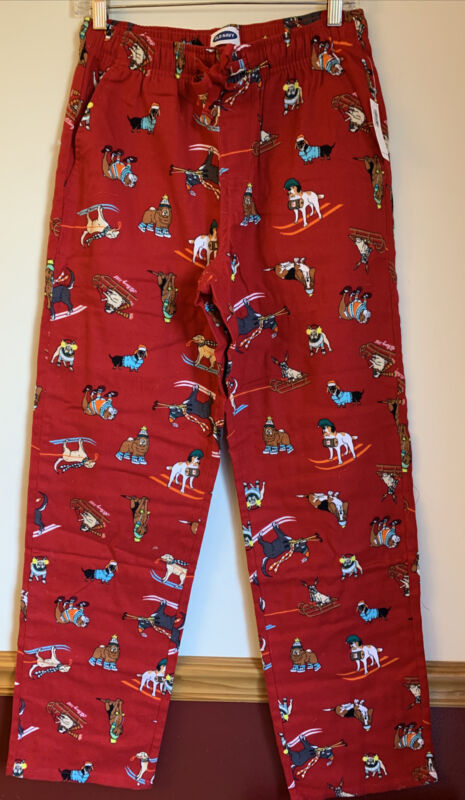 Pug,EnglishBulldog,French Bulldog And Dauchshund Pajama/Lounge Pants Plus Sizes