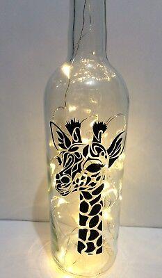 Giraffe led bottle