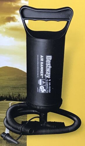 "Bestway Air Hammer Inflation Pump 12""/30 cm. NEW in Box One"