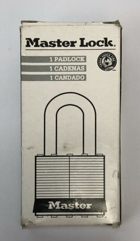 Master Lock Wind Padlock Changeable Combination 4 inch NEW