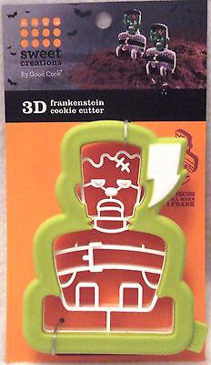 NEW Good Cook 3-D Frankenstein Halloween Cookie Cutters