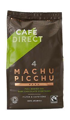 Cafédirect Machu Picchu Organic Fairtrade Ground Arabica Coffee 227g Pack Of