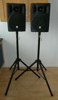 PA System Speakers Amp Cables Stands