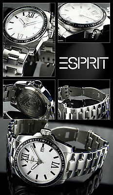 Elegant Diver Men's Esprit Watch Very Nice Easy to Read Box-Papieren