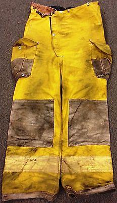 36x28 Firefighter Pants Bunker Turnout Fire Gear - Janesville Fire Wear  P604