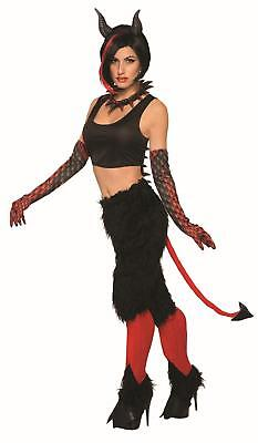 Deluxe Devil Pants With Tail Costume Standard (Devil Tails)