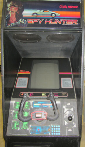 SPY HUNTER ARCADE MACHINE by BALLY/MIDWAY 1983 (Excellent Condition)
