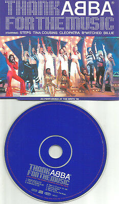 ABBA Tribute Thanks from Music REMIX CD w/ BILLIE PIPER Tina Cousins B WITCHED