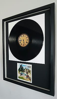 Oasis-Be Here Now Original Vinyl Record Album-Luxury Box Framed-Limited Edition