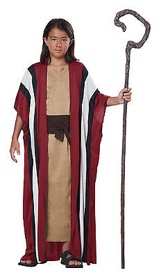 Moses Holy Bible Biblical Shepherd Religious Child Costume - Moses Costumes