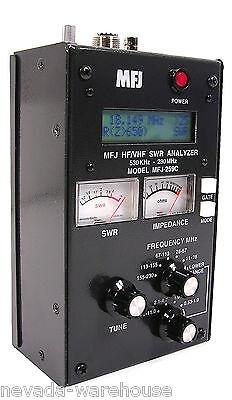 MFJ 259C portable antenna SWR analyzer for HF/VHF
