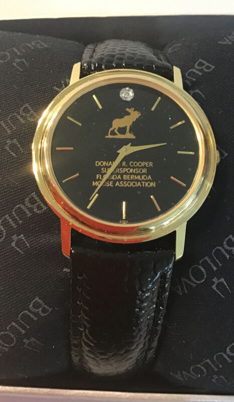 Loyal Order of Moose BULOVA watch