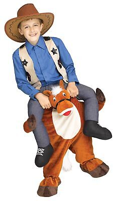 Riding Horse Costume (Carry Me Horse Child Costume Riding Cowboy  Rodeo Funny Western Clown to Size)