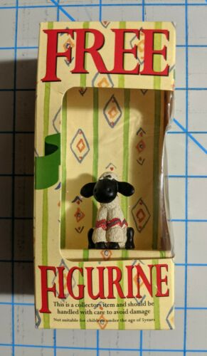 Collectible Typhoo Tea Shaun the Sheep Figurine in Box - A Close Shave Wallace