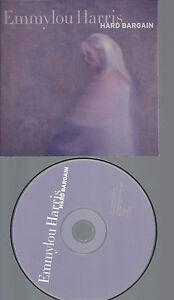CD-EMMYLOU-HARRIS-HARD-BARGAIN-PROMO