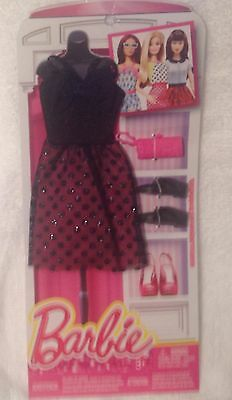Barbie Fashionista  Dress, shoes,  purse - Genuine Mattel Items NRFP