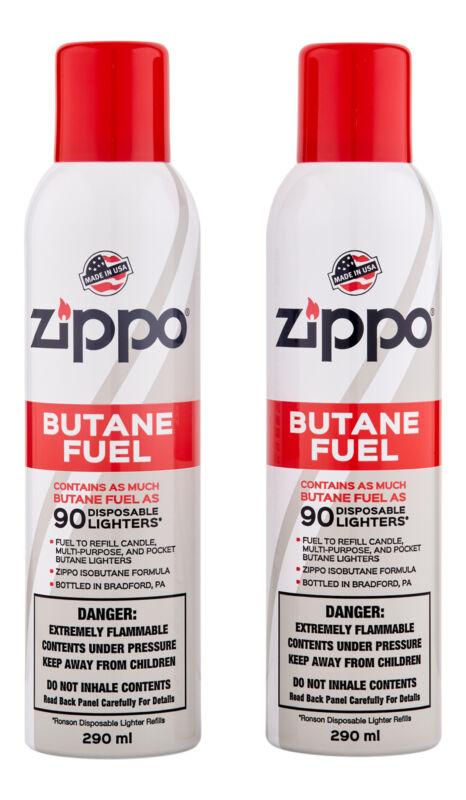 Zippo Butane Fuel 2 Ct 290 ml. Lighter Fluid
