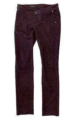 Vintage Gucci Pants Polyester Burgundy Stretch