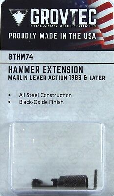 Grovtec Hammer Extension For Marlin Lever Action 1983   Later Gthm74