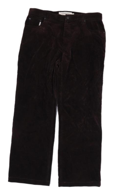 Matinique Mens Brown Corduroy Trousers Size W36/L28