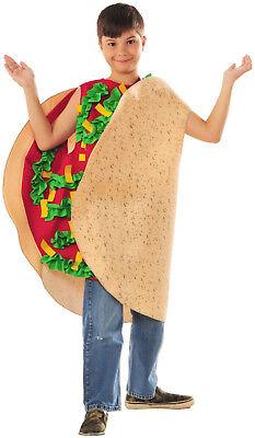 Fiesta Taco Child Costume - Kids Taco Costume