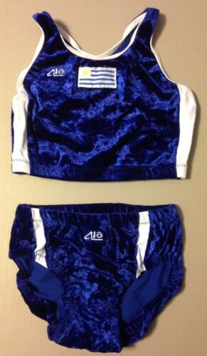 Team Uruguay Game Used Olympics Athletics Jersey Uniform From Kellie Suttle