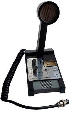Zetagi MB+9 Standmikrofon mit Verstärker, Echo und Roger Beep, Neu + OVP