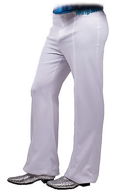 Bellbottom Disco Pants Black Or White 1970s Seeing Red - Disco Pants White