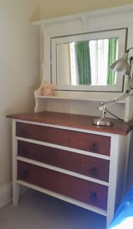 Federation antique wooden dresser