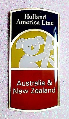 Holland America Line  Australia  Souvenir Lapel Pin New In Package Nip Mint