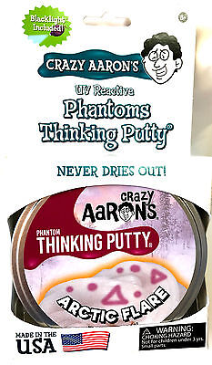 Arctic Flare Phantoms Crazy Aarons Thinking Putty Large 4 Inch Tin 3 2Oz