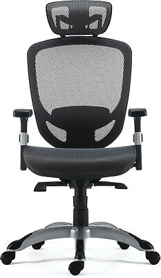 Myofficeinnovations Technical Mesh Task Chair Charcoal Gray 24328579