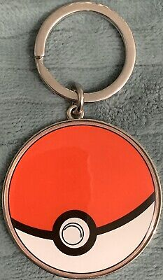 POKEMON POKEBALL Poke Ball Key Ring KEYCHAIN Nintendo Licensed