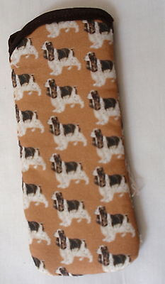 COCKER SPANIELS   GLASSES CASE Ideal small gift