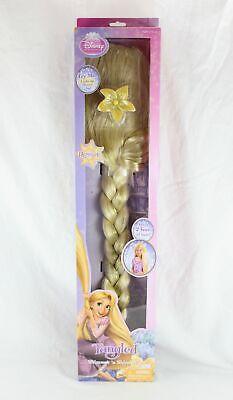 Disney Princess Rapunzel Tangled Shimmer & Shine Over 2 Ft Blonde Wig BRAND NEW - Blonde Disney Princess