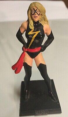 Eaglemoss Marvel lead figurine and magazine - #76 Ms. Marvel Lead Figurine Magazine