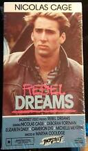 Nicolas Cage Rebel Dreams *RARE* VHS - not on DVD! Modbury North Tea Tree Gully Area Preview