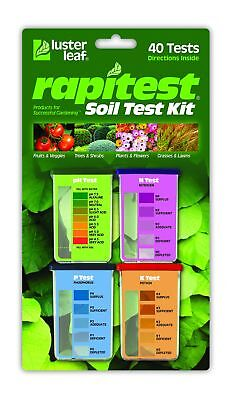 Luster Leaf 1601 Rapitest Garden Farm Lawn Soil pH NPK Test Tester Testing - Luster Leaf Rapitest Soil