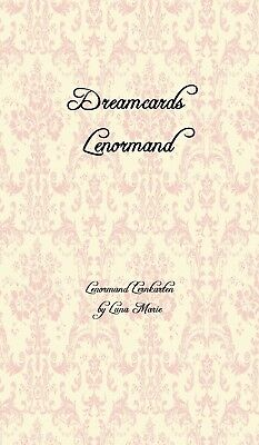 """Dreamcards - Lenormand Lernkarten by Luna Marie"" *NEU*"