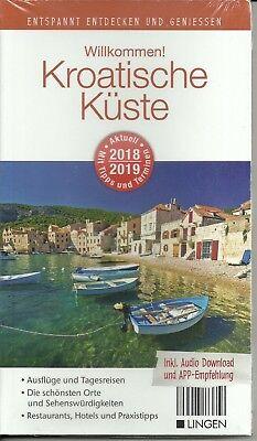 Reiseführer Kroatische Küste Brac Rab Cres Pula Zadar Krk mit Landkarte 2018/19