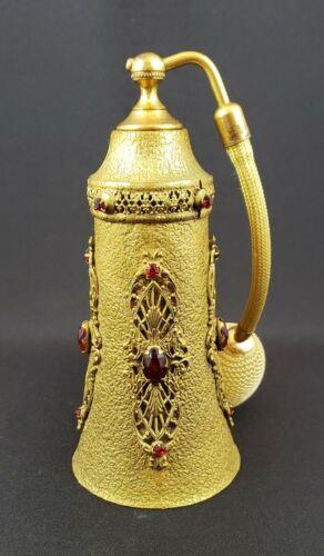 Perfume Atomizer by Apollo Studios - 1920s - 16 jewels - Filigree Decorated