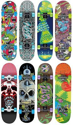 Xootz 78.7cm Komplett Double Kick Ahorn Deck Trick Skateboards Anfänger Spaß