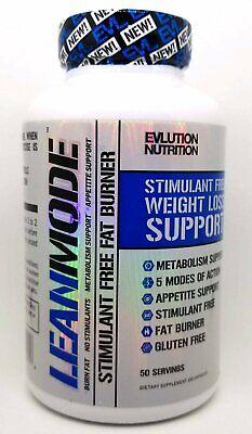 EVLUTION NUTRITION - LEANMODE 150 Caps/50 Sv Stimulant-Free