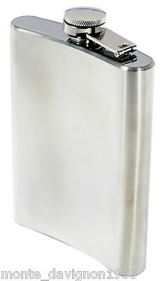 8oz Stainless Steel Liquor Hip Flask